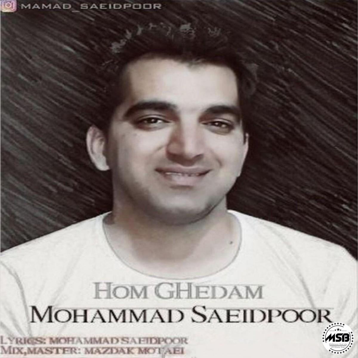 دانلود آهنگ محمد سعیدپور بنام هم قدم