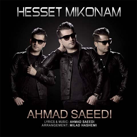 دانلود آهنگ احمد سعیدی بنام حست میکنم