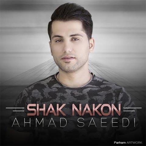 دانلود آهنگ احمد سعیدی بنام شک نکن